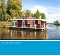 Modernes hochwertiges Hausboot - Wohnen und