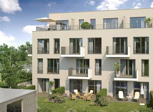 Außergewöhnliche 2,5-Zimmer-Wohnung mit Gartenterrasse in West-Ausrichtung! Nähe Olympiapark!