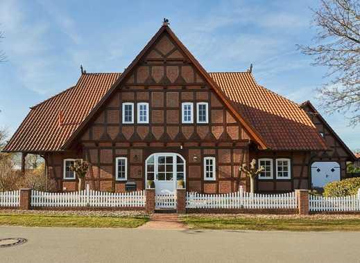 Attraktive und große Eigentumswohnung in einem Zwei-Parteien-Haus in Wilstedt