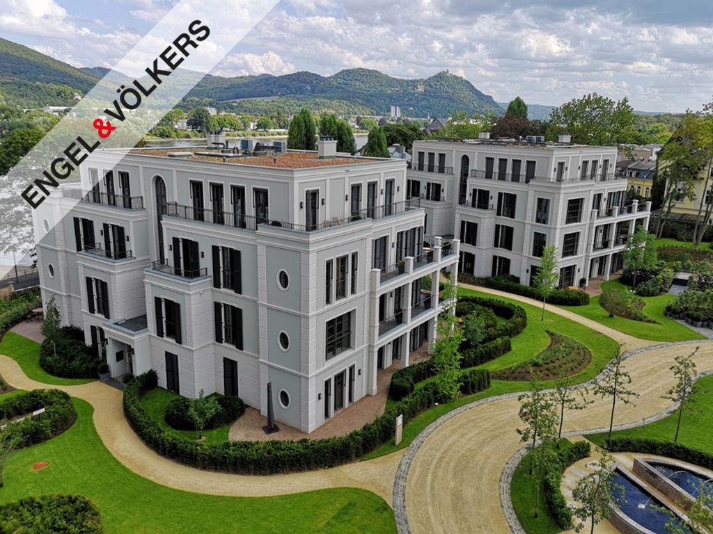 Hausansichten der Rheinvillen