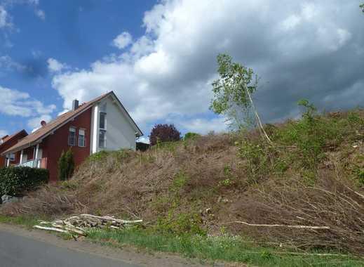 Bauen und Wohnen wo andere Urlaub machen - traumhaftes Grundstück mit herrlichem Blick ins Grün