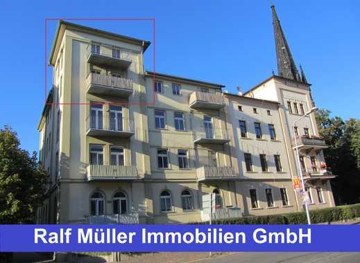 NEU! WOHNEN MITTEN IN DER CITY - 3-Raum-Maisonette-Wohnung mit 2 Balkonen! NEU!