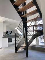 Attraktive 4 5-Zimmer-Maisonette-Wohnung mit Loggia