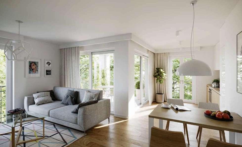 Exklusive Wohlfühlwohnung mit Terrasse und kleinen Garten in