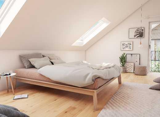 Jeden Tag ein Stückchen Urlaub! Moderne Dachgeschosswohnung mit Balkon im idyllischen Baierbrunn