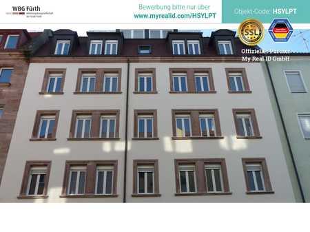 Moderne 2-Zimmer Wohnung mit Balkon in kernsaniertem Wohnhaus am Rande des Nibelungenviertels in Glockenhof (Nürnberg)