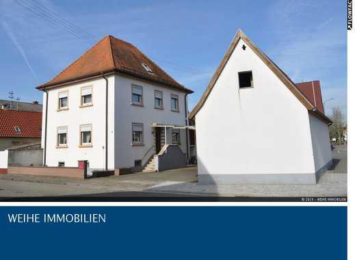Geräumiges Einfamilienhaus mit Nebengebäuden und viel Potenzial