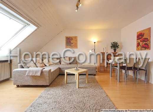 Sehr ruhig gelegene Dachgeschoßwohnung mit Loggia in einem Zweifamilienhaus, geeignet für bis zu ...