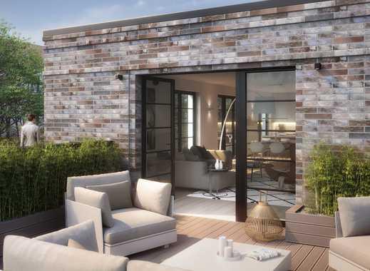 Einzigartige ca. 80 qm große Dachterrasse! 4-5 Zimmer Penthouse in einer ruhiger Innenhofbebauung!