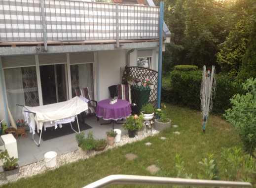 Gepflegte 2-Zimmer-Terrassenwohnung und Einbauküche in Stuttgart Sommerrain