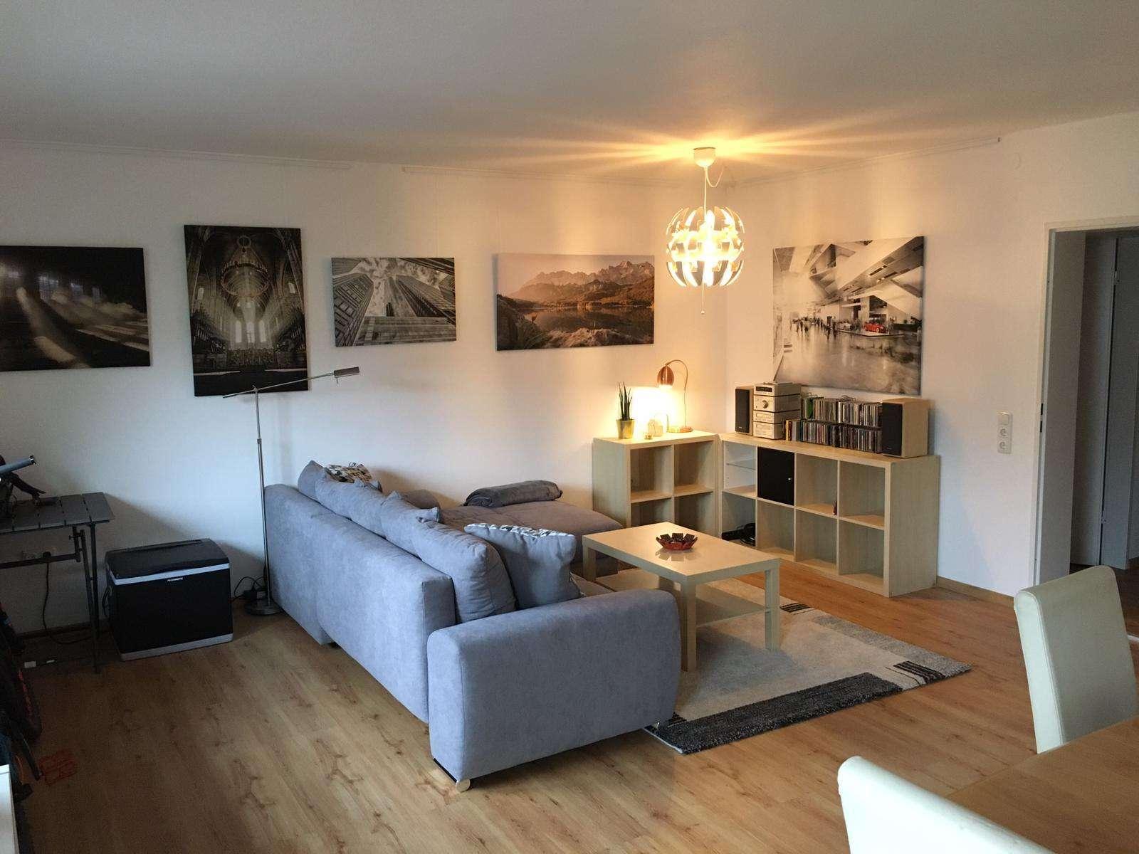 2-Zimmer-Wohnung mit Balkon in Seenähe in