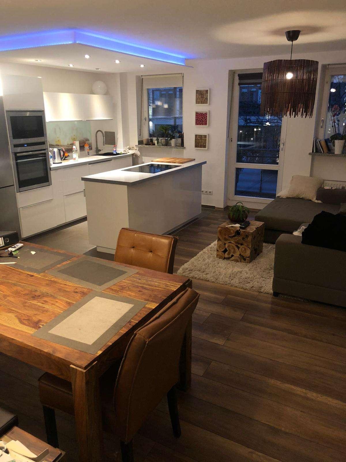 Sanierte 2-Zimmer-Wohnung mit Balkon und EBK in Schwabing, München in
