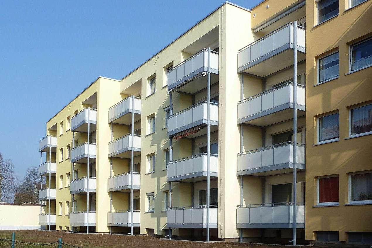 Mitterteich . 4-Zimmer-Wohnung mit Balkon und Blick ins Grüne