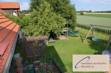 Kinder willkommen: Herrliche 4-ZimmerDG-Whg mit Garten - Immobilienbüro SEIBOLD in Buch am Buchrain