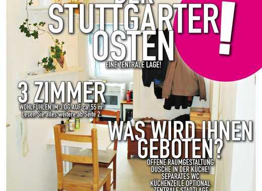 Gemütliche 3 Zimmer Wohnung in Stuttgart Ost