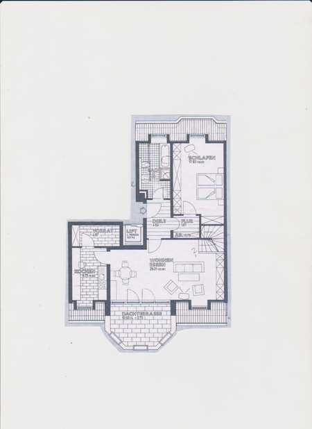 Exklusive, vollständig renovierte 3-Zimmer-Maisonette-Wohnung mit Balkon in Augsburg in Hochzoll (Augsburg)