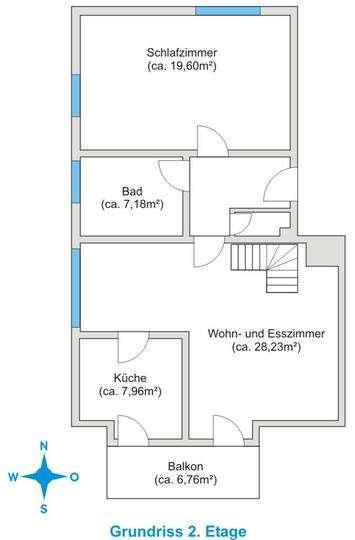 Nette Maisonette (3 Zi.) mit Galerie in Untermeitingen zur Miete in Untermeitingen