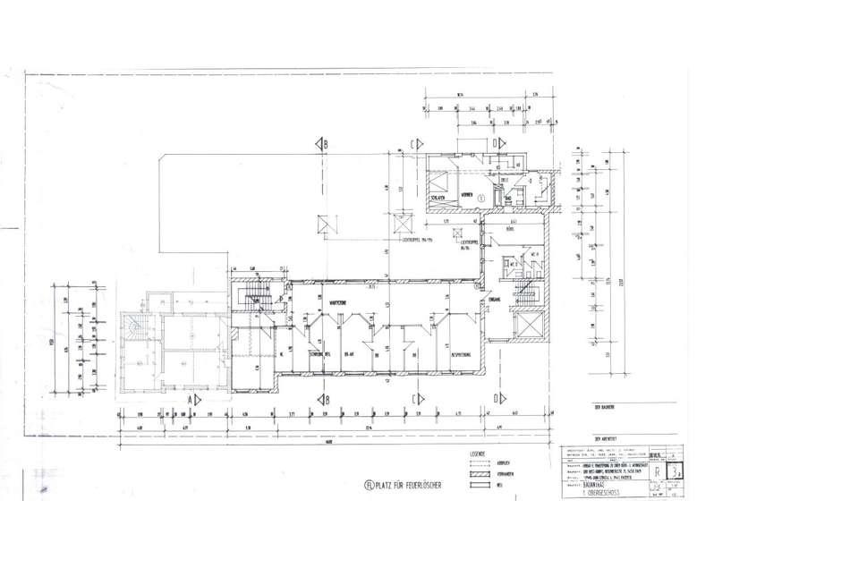 1. Obergeschoss Bauantrag