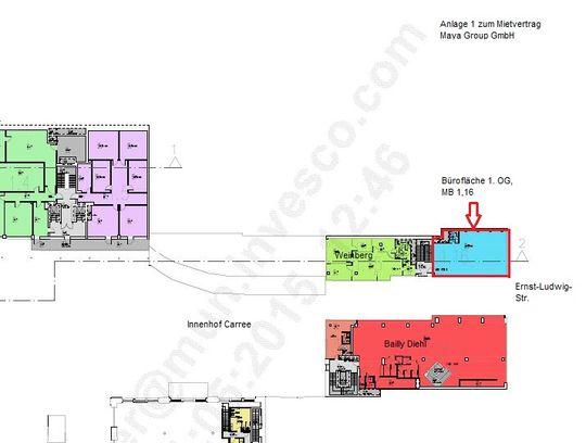 Anlage 1 Grundriss zum MV Maya