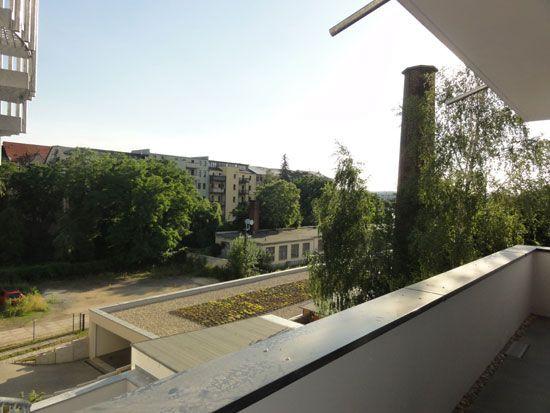 Blick vom Balkon Süd-West