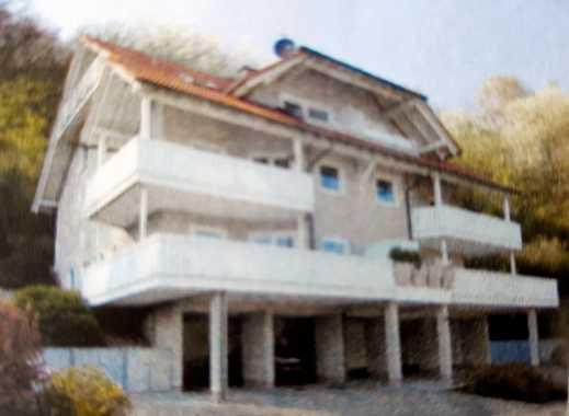Helle offene Maisonettwohnung mit Blick über den schönen Odenwald