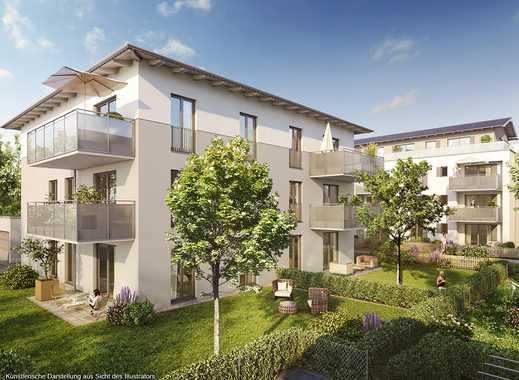 4-Zimmer-Wohnung mit sonnigem Balkon und offener Wohn-Ess-Küche