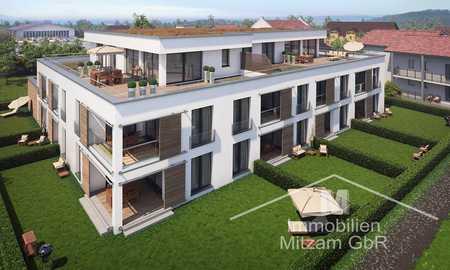 Traumhafte Neubau 2-Zimmer-Erdgeschoss-Whg. mit EBK und Garten in bester Lage am Sulzpark Beilngries in Beilngries