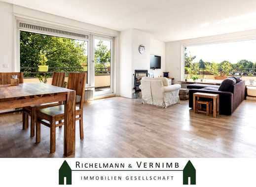 Penthouse in ruhiger Lage mit Weitblick