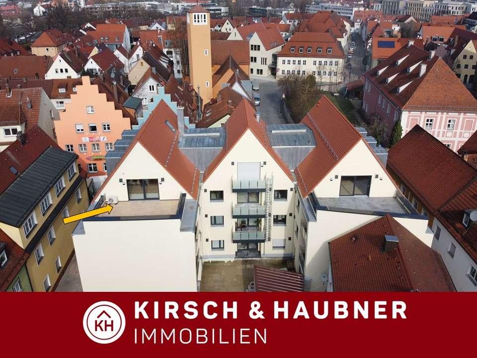 Das Highlight im Herzen der Altstadt!  Einmalige Dachterrassenwohnung, Neumarkt - Hallertorstraße in