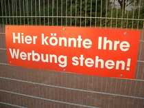 Bild WERBEFLÄCHE - Imagewerbung- Bandenfl.