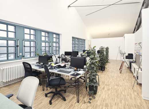 3 Skylight-Teambüros nebeneinander für bis zu 35+ Arbeitsplätze in den AEG-Höfen (Unicorn AEG I)