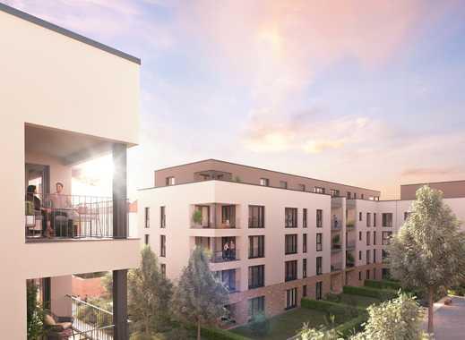 Sensationelle Penthauswohnung mit 4 Zimmern und ca. 157 m² Wohnfläche sowie 2 Balkone/Terrassen