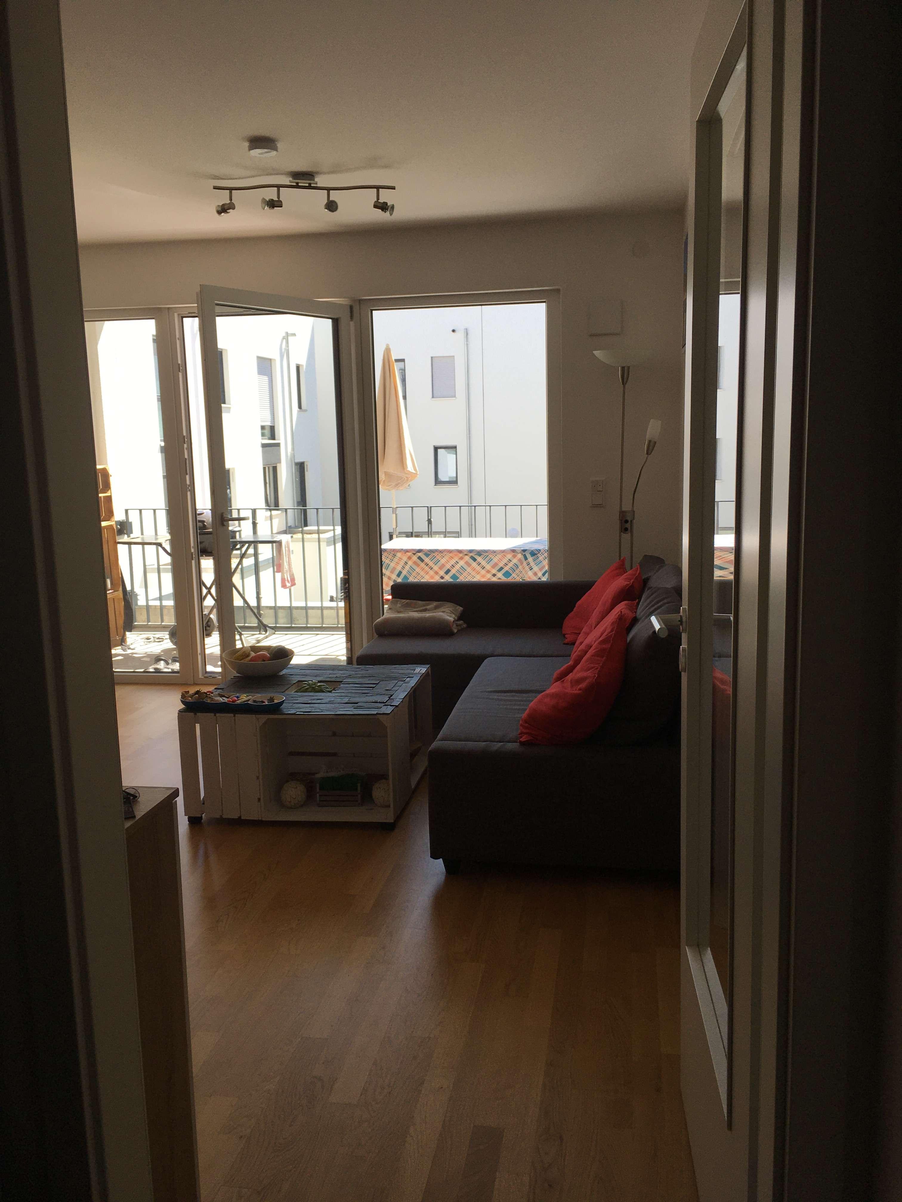 Stilvolle 2-Zimmer-Wohnung mit Balkon im  Regensburger Marina-Forum in