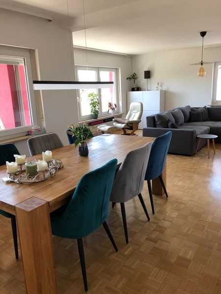 Sonnige 4-Zimmer-Wohnung mit Einbauküche und Balkon in Bad Kissingen RESERVIERT in Bad Kissingen