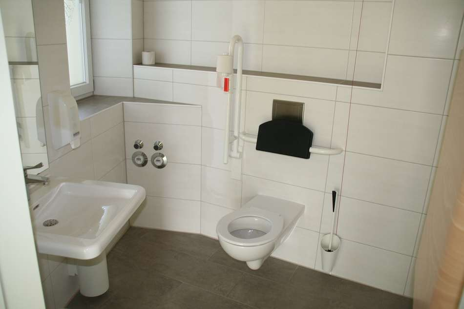 Gewerbe Behinderten WC