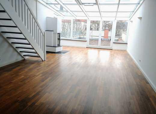 Traumhafte Maisonette am Clara-Park mit 40 m²-Dachterrasse, Kamin und Galerie