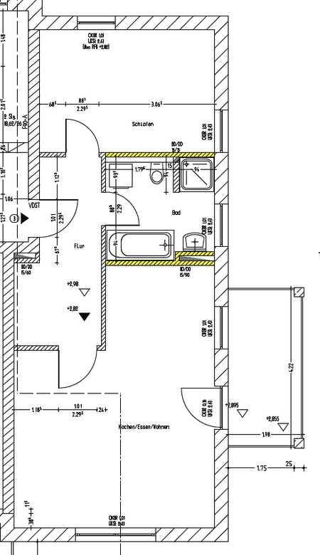 Hochwertige 2-Zimmerwohnungen mit EBK und Balkon/Terrasse in Zorneding