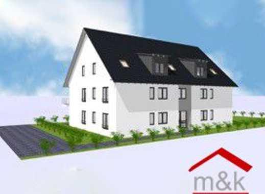 Butzbach Griedel: Neubau 4-Zimmer-Wohnung, Erstbezug! Loggia, PKW-Stellplatz, Kfw 55