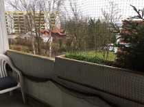 Vermietete 1-Zimmer-Wohnung mit Aufzug Balkon