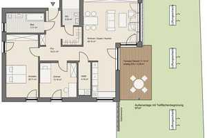 3 Zimmer Wohnung in Aschaffenburg (Kreis)