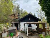 Freizeit-Grundstück mit massivem Wochenendhaus und