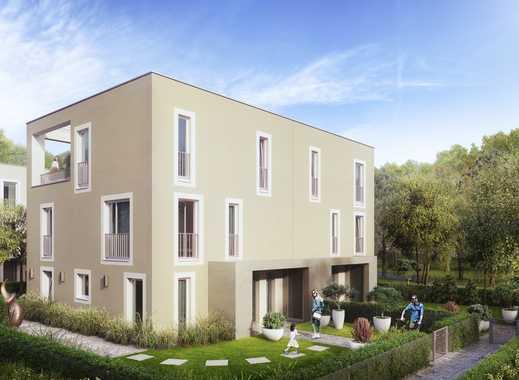 Ideal geschnittenes 6-Zimmer-Stadthaus mit Dachstudio