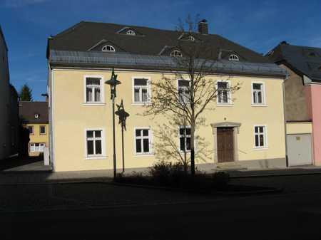 Neuwertige 2-Zi.-EG-Wohnung + große Wohnküche mit EBK + Bad im Stadtzentrum von Rehau in Rehau