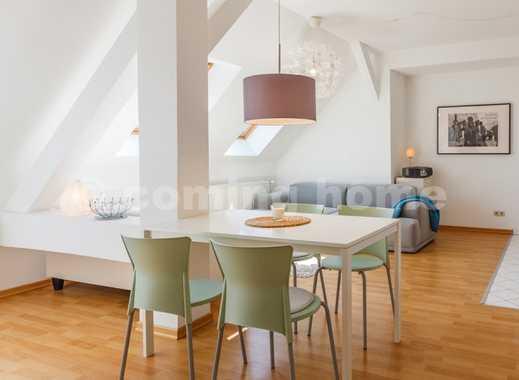 Feeling home: Individuelle Dachgeschosswohnung mit Internet in fantastischer Location Nähe Rosent...