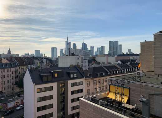 Wohnen über den Dächern Frankfurts