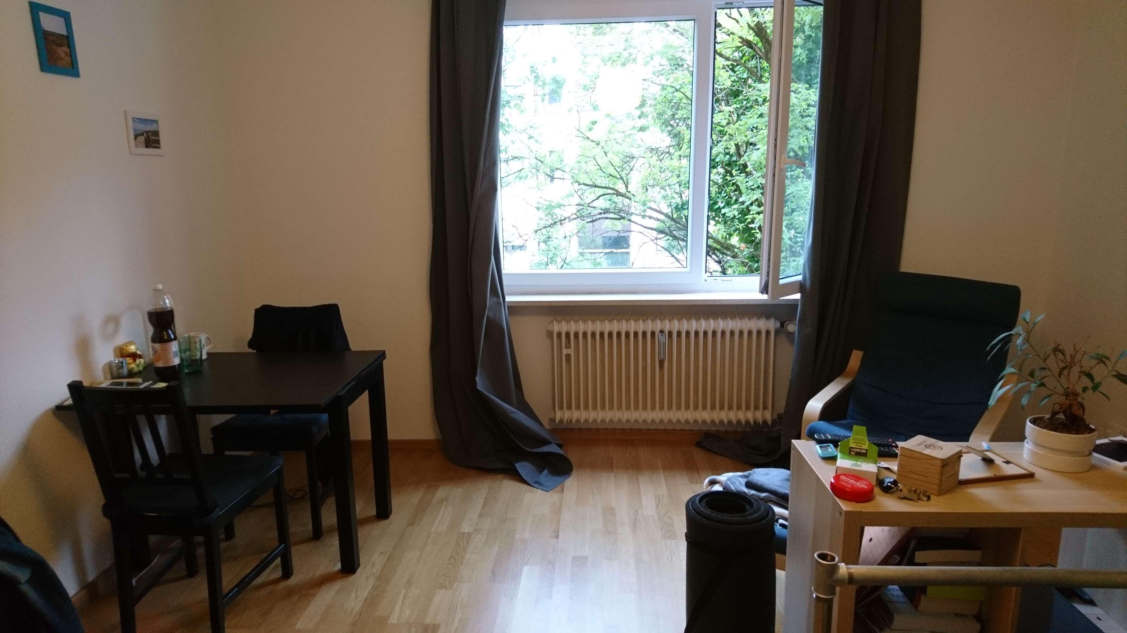 Schöne Einzimmerwohnung in München, Schwabing