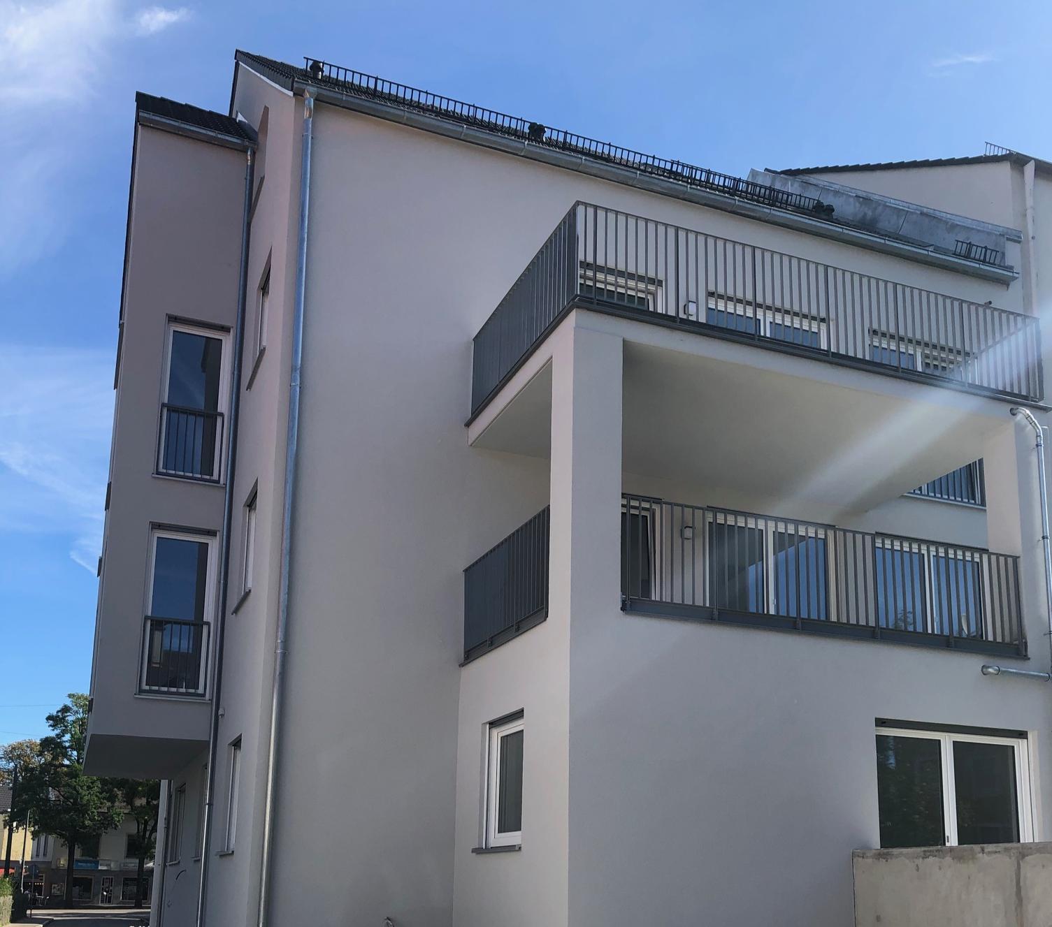 NEUBAU mit Balkon: schöne, zentral gelegene 2-Zimmer-Wohnung in Lechhausen (Augsburg)