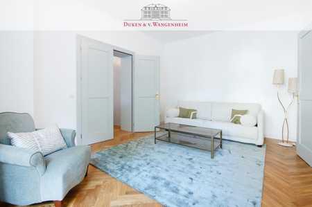 Exklusiv möblierte 2-Zimmer Wohnung. Inkl. Terrasse im Herzen Bogenhausens.   in Bogenhausen (München)