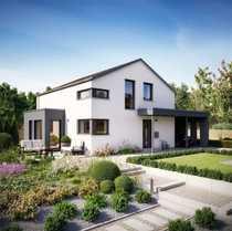 Modernes und energieeffizientes Einfamilienhaus