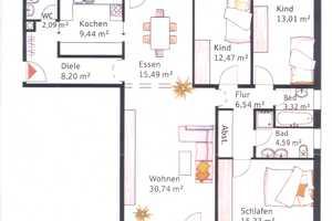 4.5 Zimmer Wohnung in Dachau (Kreis)